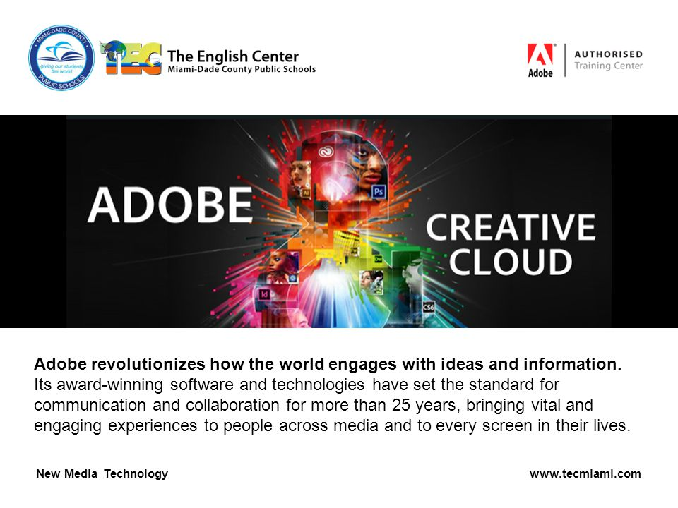 Adobe revolutionizes how the world engages with ideas and information.