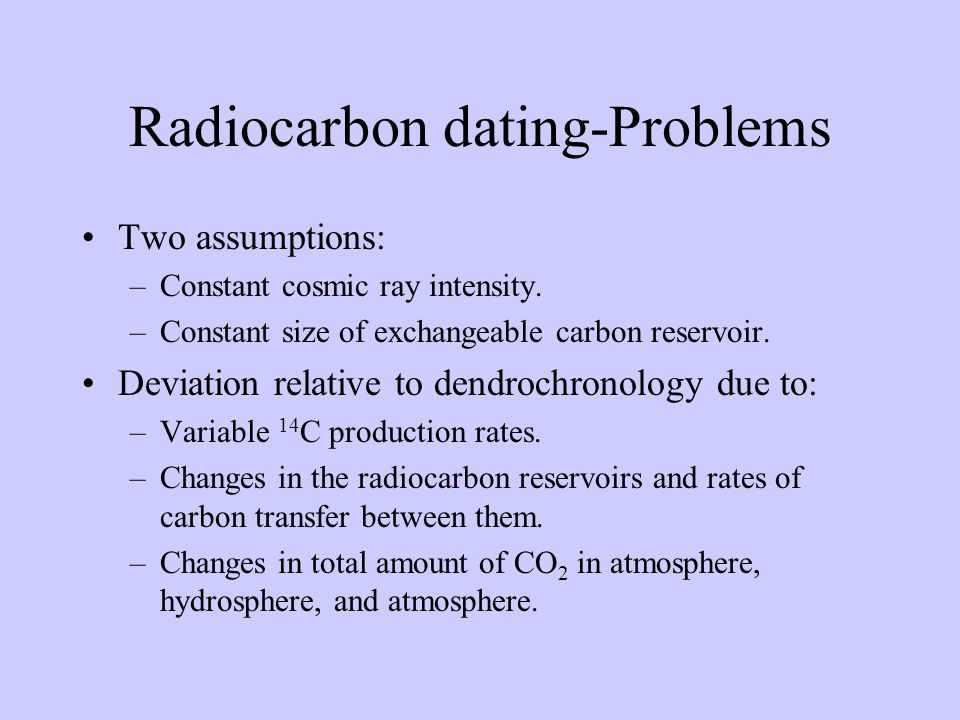 Radiocarbon dating decay constant for cesium