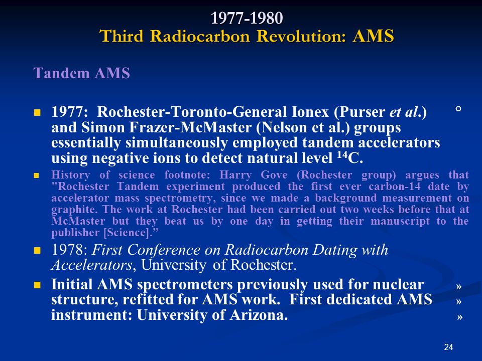 accelerator mass spectrometry the new revolution in radiocarbon dating