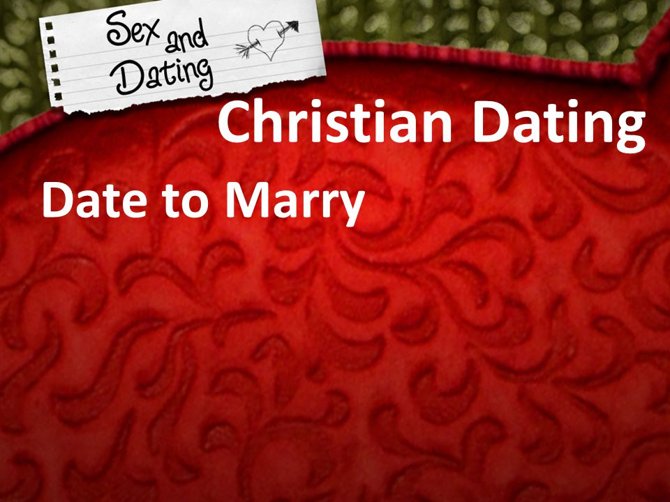 Christian dating dtr