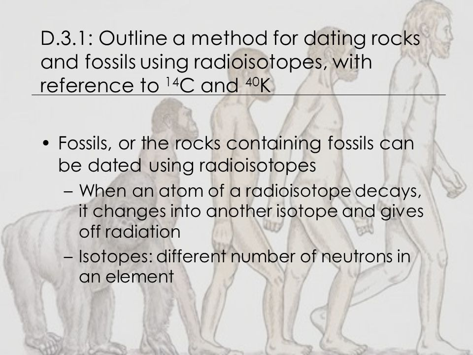 Method of dating rocks and fossils