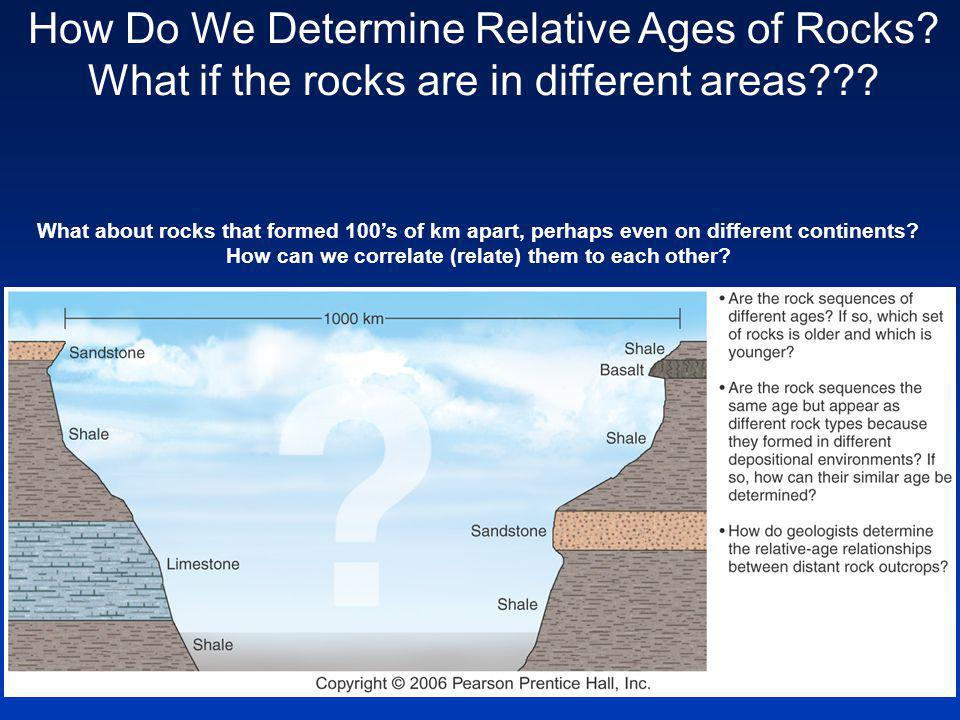 What about rocks that formed 100s of km apart, perhaps even on different continents.