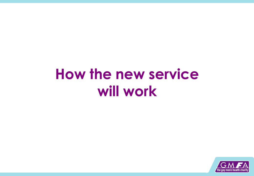 How the new service will work