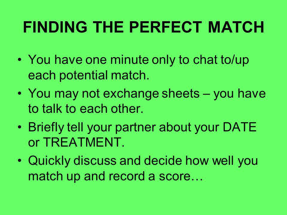 speed dating score sheet cs go matchmaking server nicht verbunden
