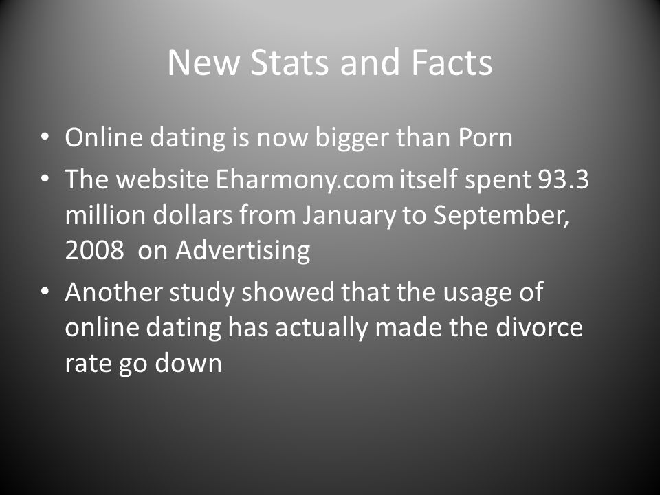 divorce rates due to online dating