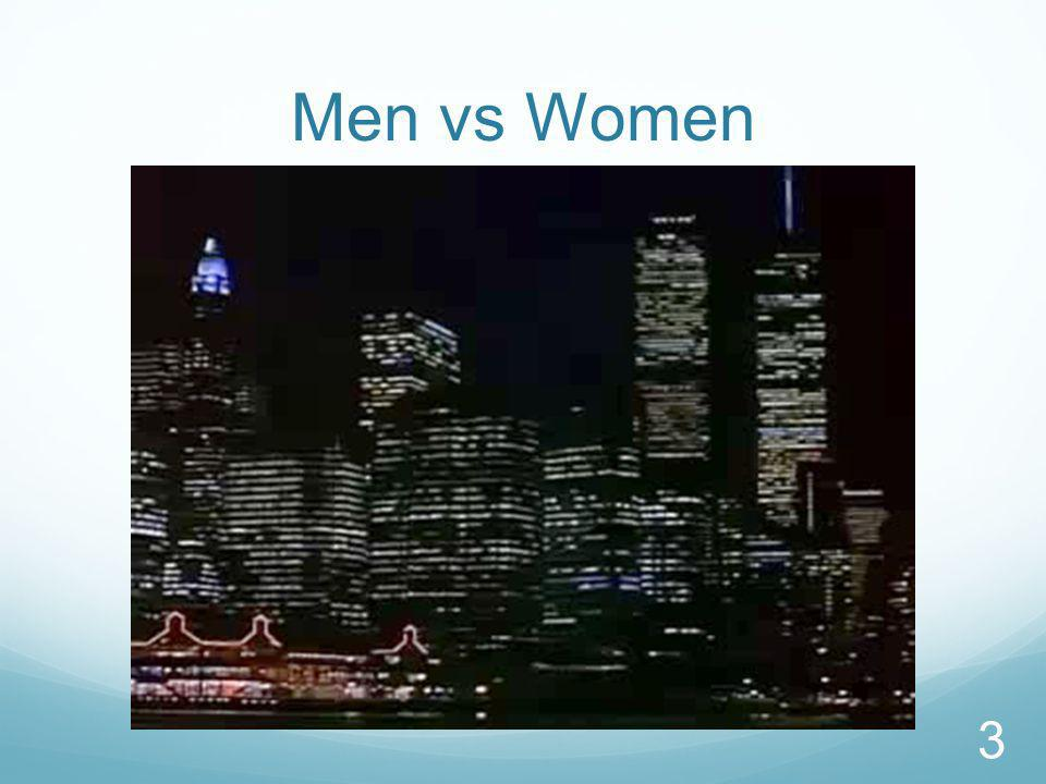 Men vs Women 3