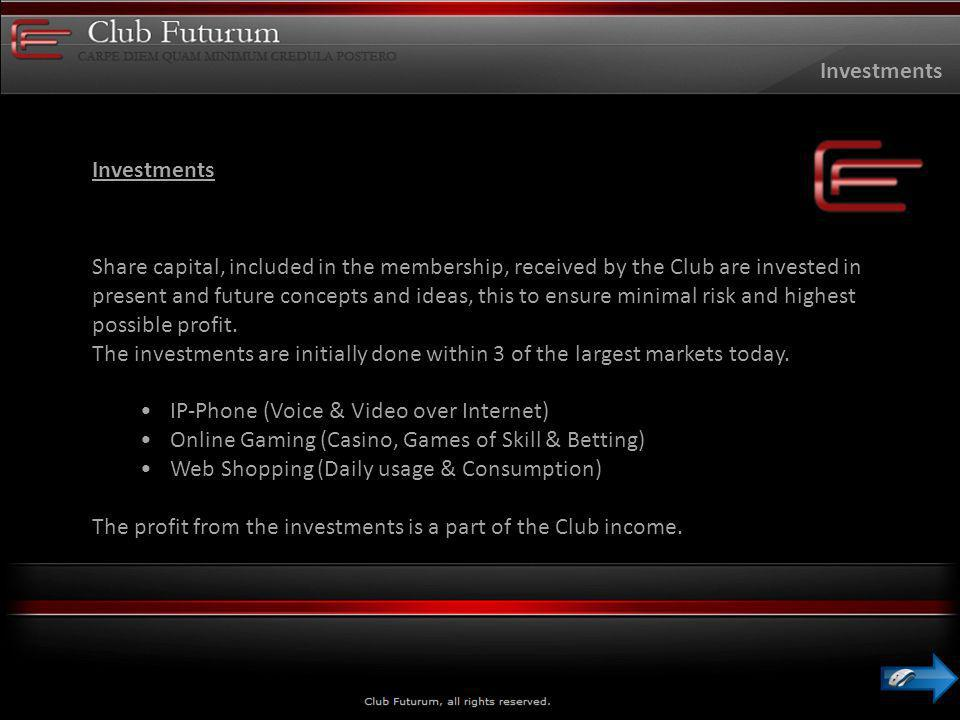 The Club Income Shop Futurum Phone Futurum Dating Futurum Game Futurum More to come… Club Income Company receive commission on revenue from Partners