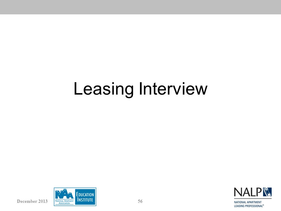 Leasing Interview 56December 2013