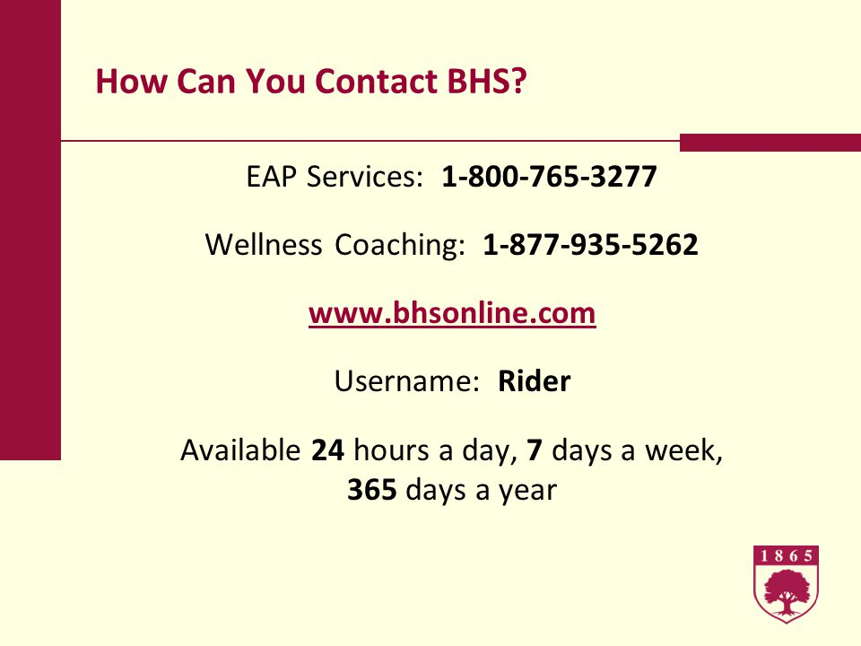 How Can You Contact BHS.