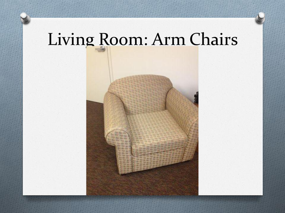 Living Room: Arm Chairs