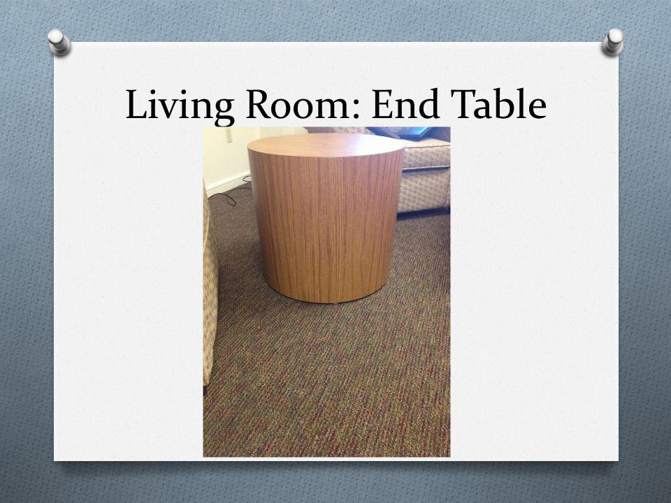 Living Room: End Table