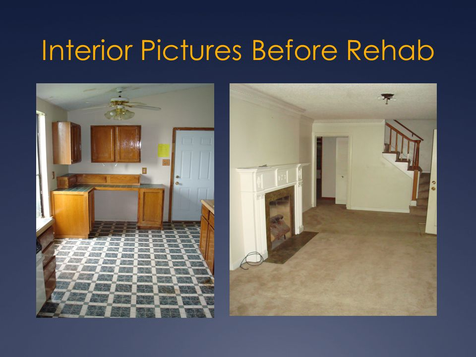 Interior Pictures Before Rehab
