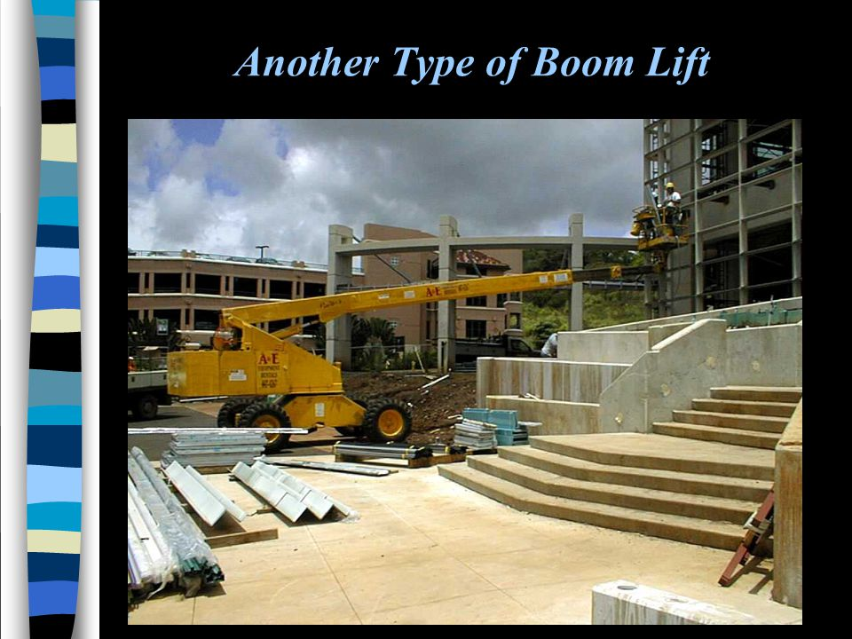 Another Type of Boom Lift