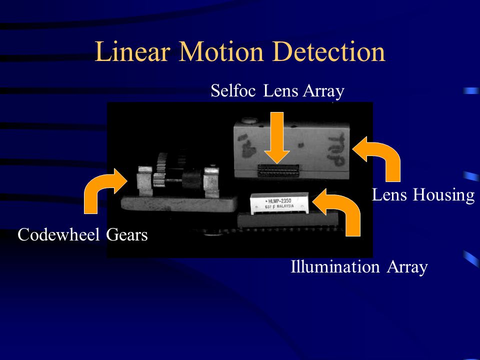 Linear Motion Detection Codewheel Gears Illumination Array Lens Housing Selfoc Lens Array