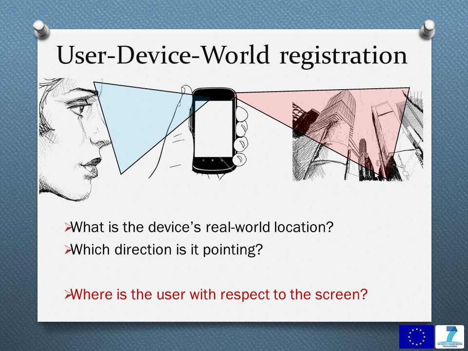 User-Device-World registration What is the devices real-world location.