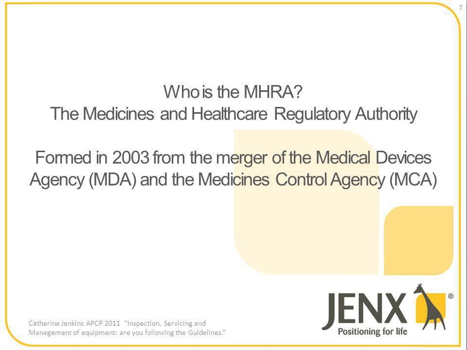 Who is the MHRA.
