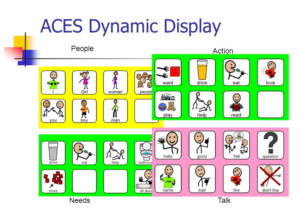 ACES Dynamic Display People Action NeedsTalk