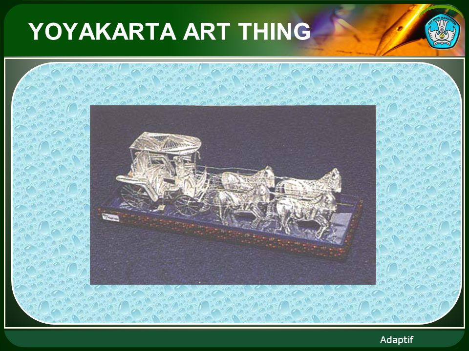 Adaptif YOYAKARTA ART THING