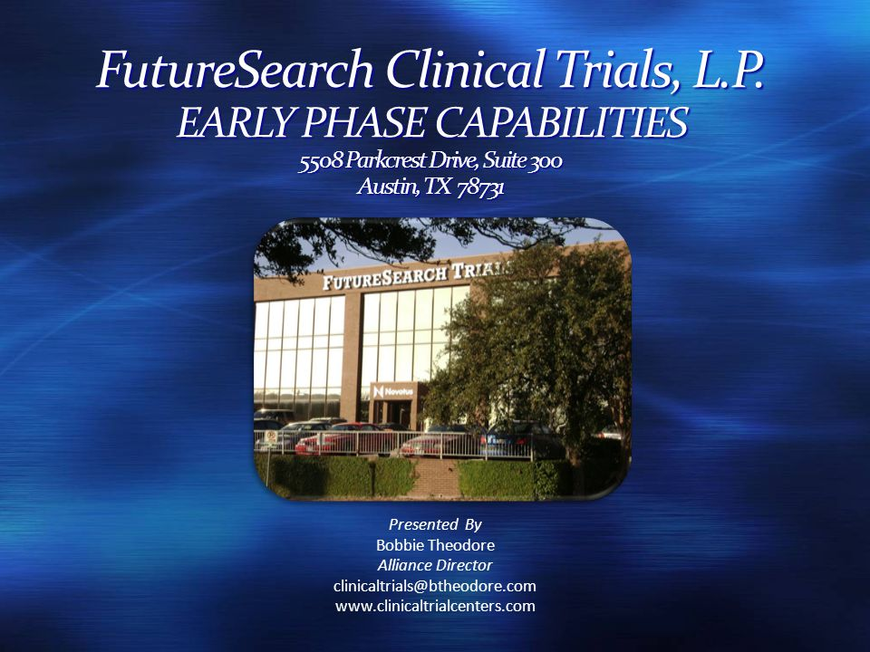 FutureSearch Clinical Trials, L.P.