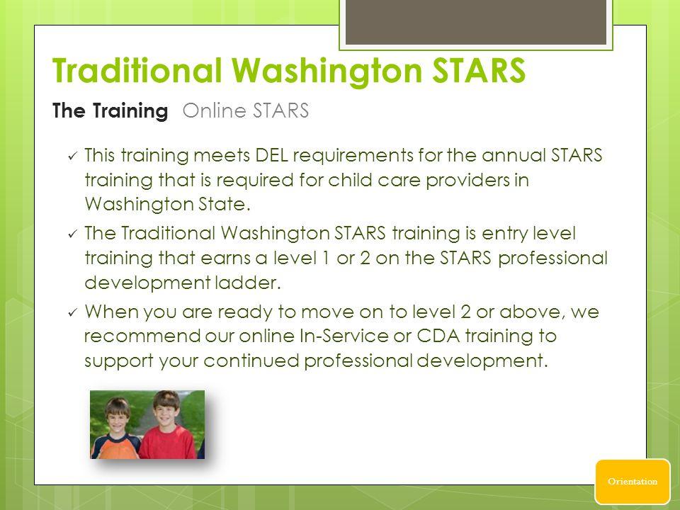 Traditional Washington STARS Successful Solutions Professional ...