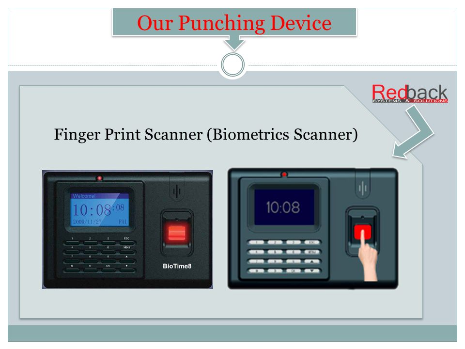 Finger Print Scanner (Biometrics Scanner) NetPay Our Punching Device