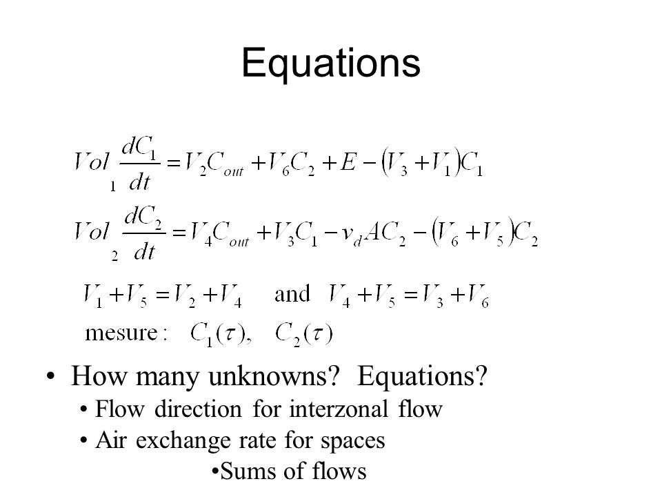 Equations How many unknowns. Equations.