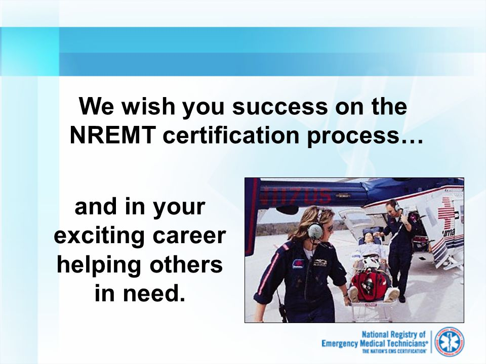 What You Need To Know About The Computer Adaptive Nremt Exam Ppt