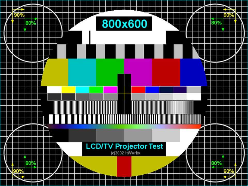 LCD/TV Projector Test