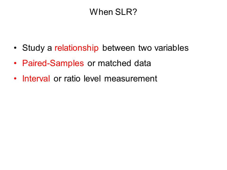 Simple Linear Regression and Correlation by Asst. Prof. Dr. Min Aung