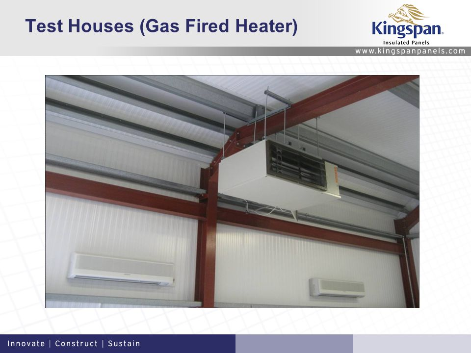 Test Houses (Gas Fired Heater)