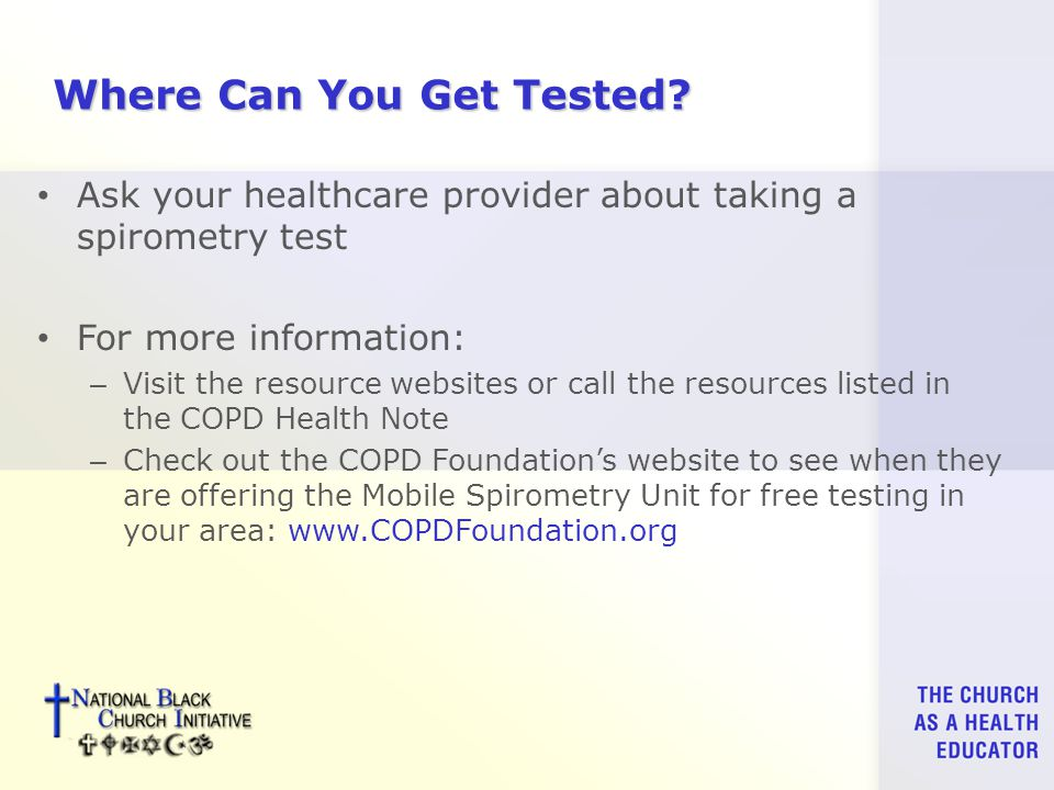 Where Can You Get Tested.