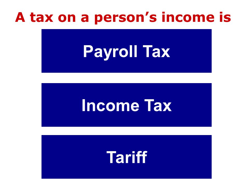 Test Your Knowledge of Taxation Play For Richer For Poorer