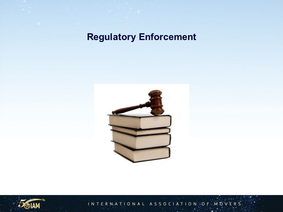 Regulatory Enforcement