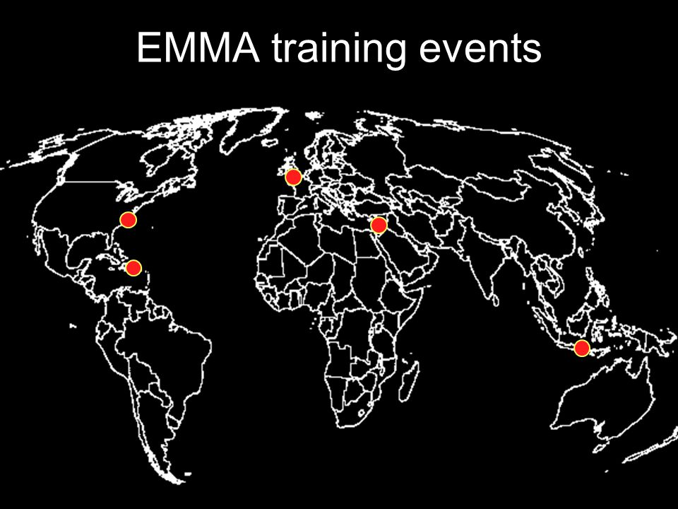 EMMA training events