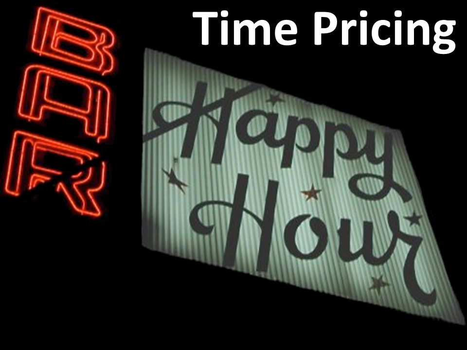 Time Pricing