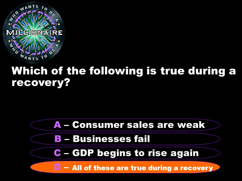 Which of the following is true during a recovery.