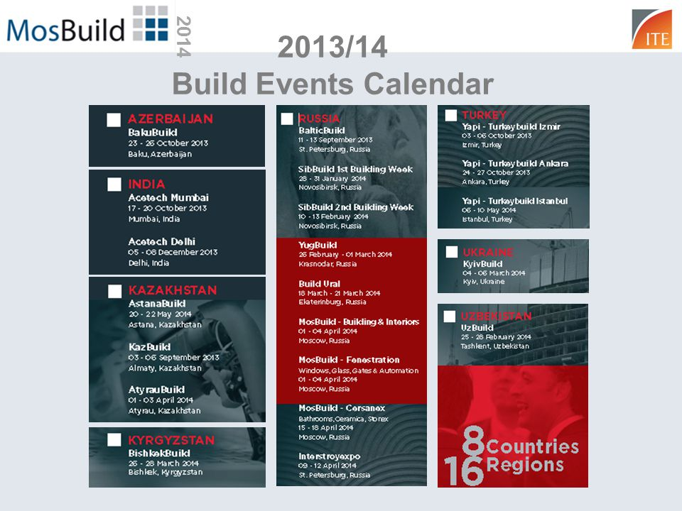 2013/14 Build Events Calendar 2014