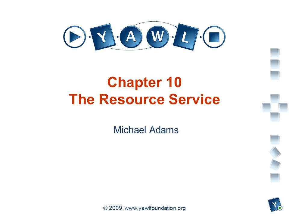 a university for the world real R © 2009, www.yawlfoundation.org Chapter 10 The Resource Service Michael Adams