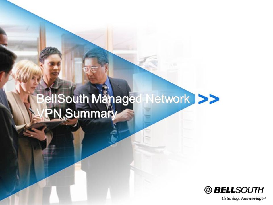 BellSouth Managed Network VPN Summary