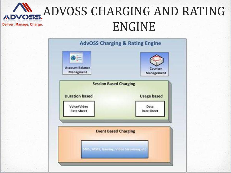 ADVOSS CHARGING AND RATING ENGINE