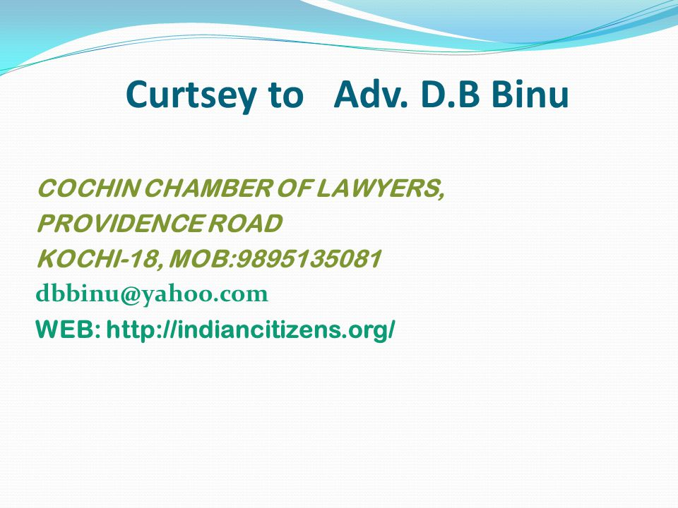 Curtsey to Adv.