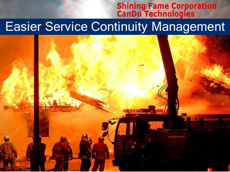 Easier Service Continuity Management