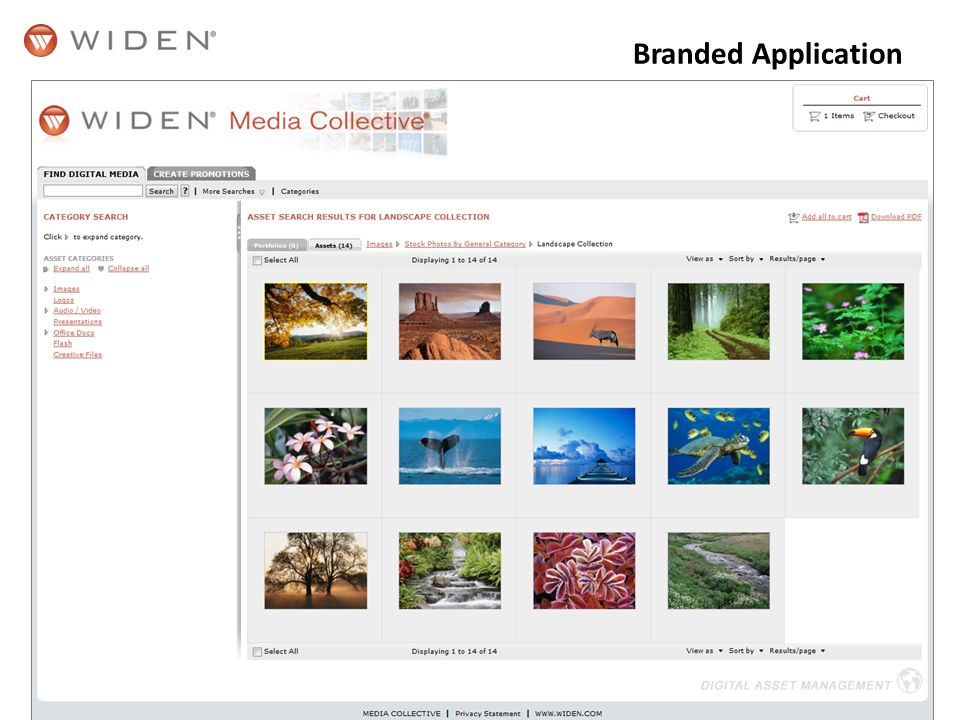Branded Application