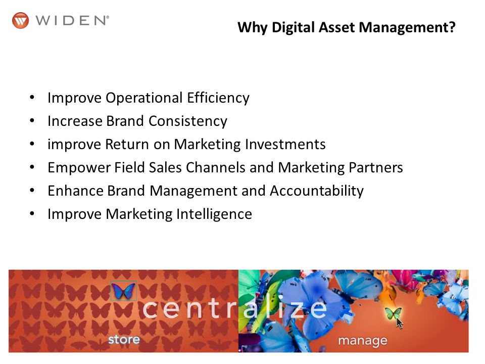 Why Digital Asset Management.
