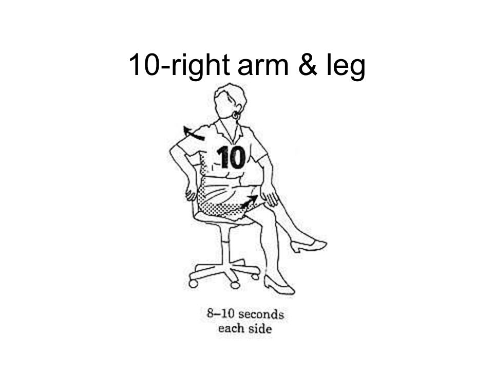 10-right arm & leg