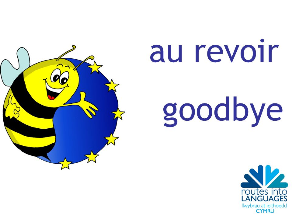 au revoir goodbye