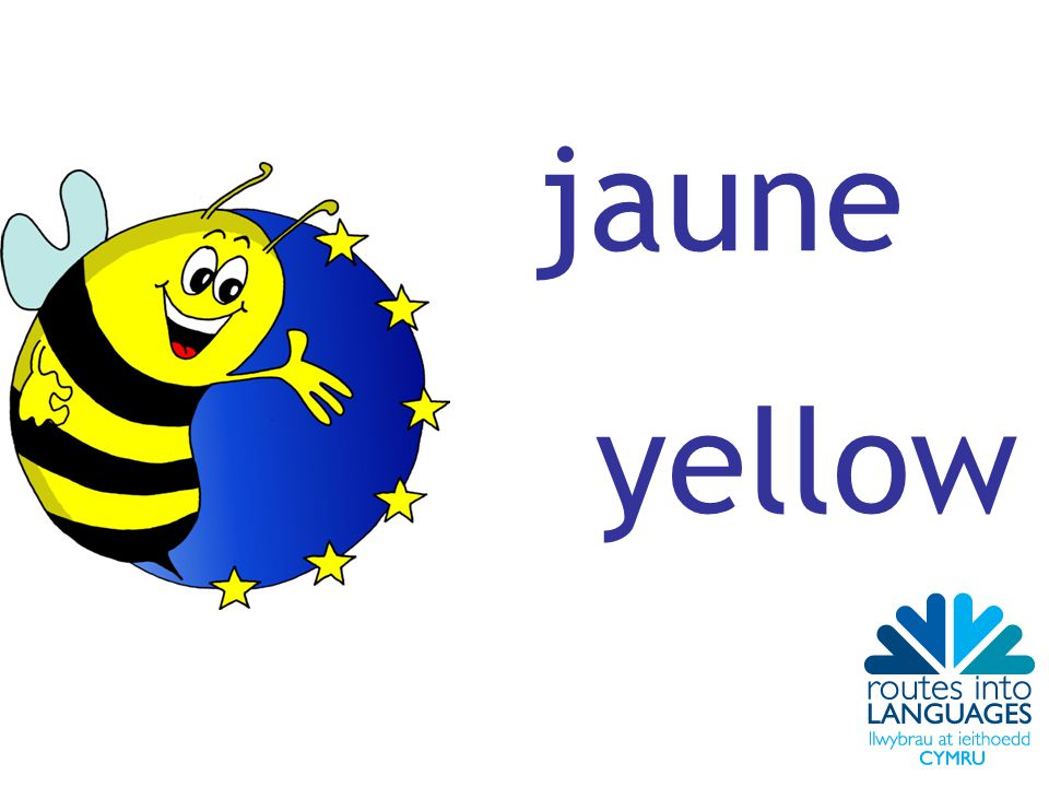 jaune yellow