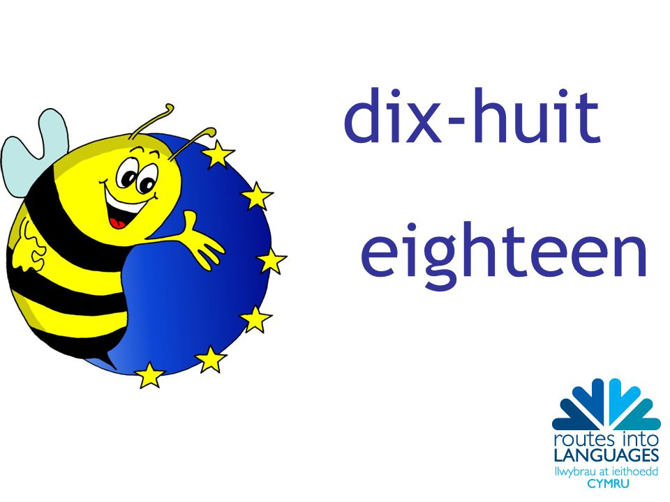 dix-huit eighteen