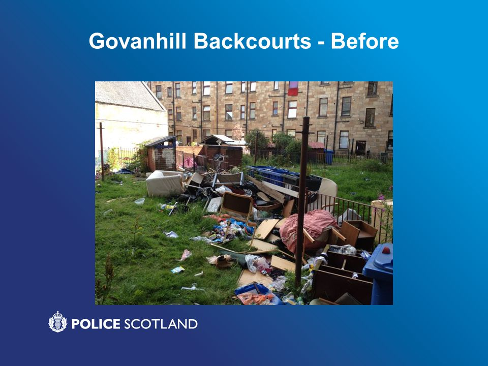Govanhill Backcourts - Before