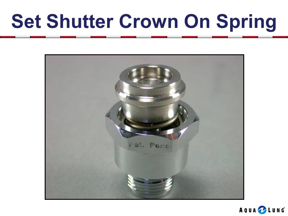 Set Shutter Crown On Spring